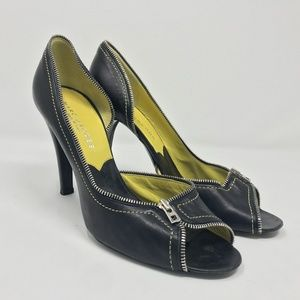 Marc Jacobs Zipper Pumps Made in Italy 39